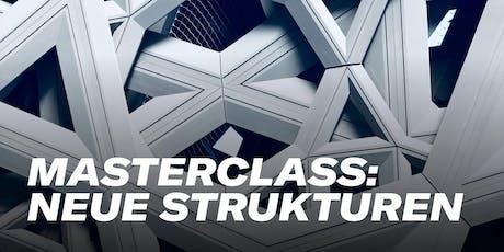 Masterclass: Neue Strukturen für Innovation Tickets