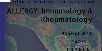 12th International Conference on Allergy, Immunol