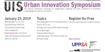 Urban Innovation Symposium 2019