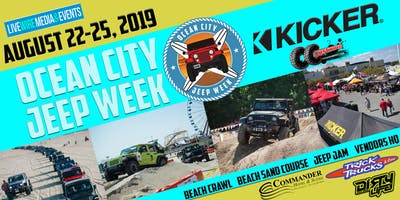 2019 Ocean City Jeep Week Online Registration has ended but you can still register on-site Tuesday-Saturday