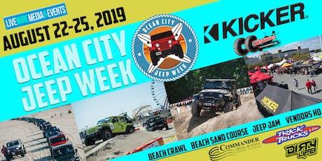 2019 Ocean City Jeep Week Aug 22 - 25 tickets