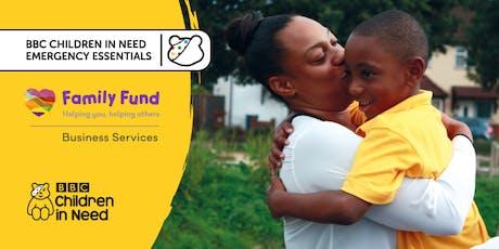 Webinar for BBC Children in Need Emergency Essentials Grant Fund tickets