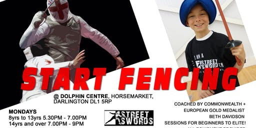 FENCING 4 ALL @ Darlington Dolphin Centre