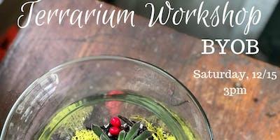 Holiday Terrarium Workshop