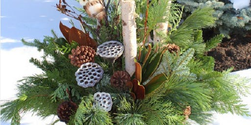 Christmas Greens Make & Take Container Workshop