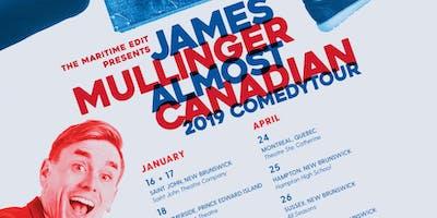 James Mullinger 2019 Comedy Tour