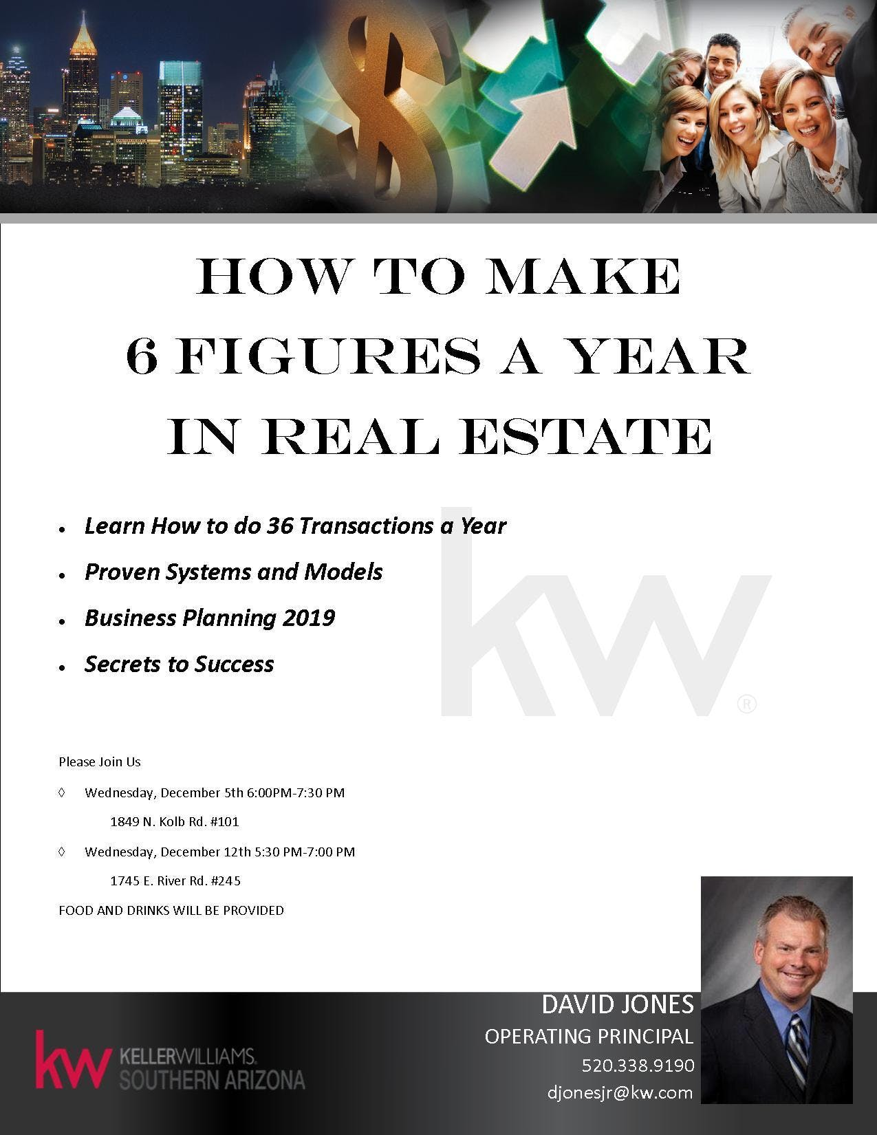 How to make 6 Figures in Real Estate...FOR LI