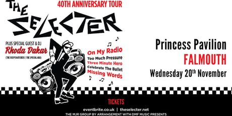 The Selecter - 40th Anniversary Tour + DJ Rhoda Dakar (Princess Pavilion, Falmouth) tickets