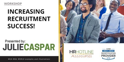 Increasing Recruitment Success!