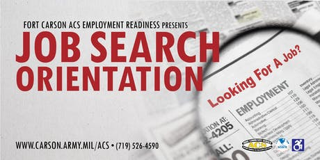 Job Search Orientation  tickets