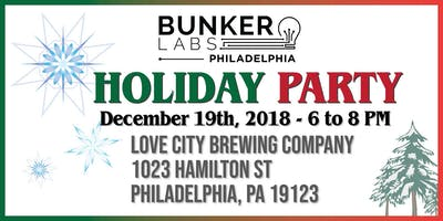 Bunker Labs Philadelphia: Holiday Party!