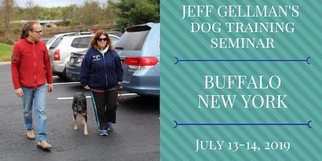Buffalo, NY - Jeff Gellman Seminars - 2 Day Dog Training Seminar  tickets