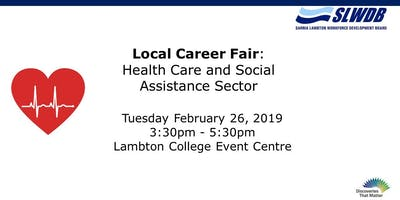 Career Fair for Health Care and Social Assistance Sector