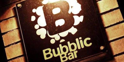La primera copa ? en Bubblic Bar !