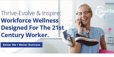 Workforce Wellness Designed For The 21st Century Worker.