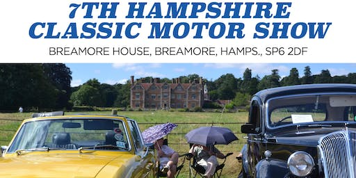 Breamore House Motor Show