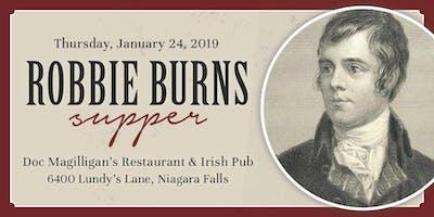 Robbie Burns Supper 2019