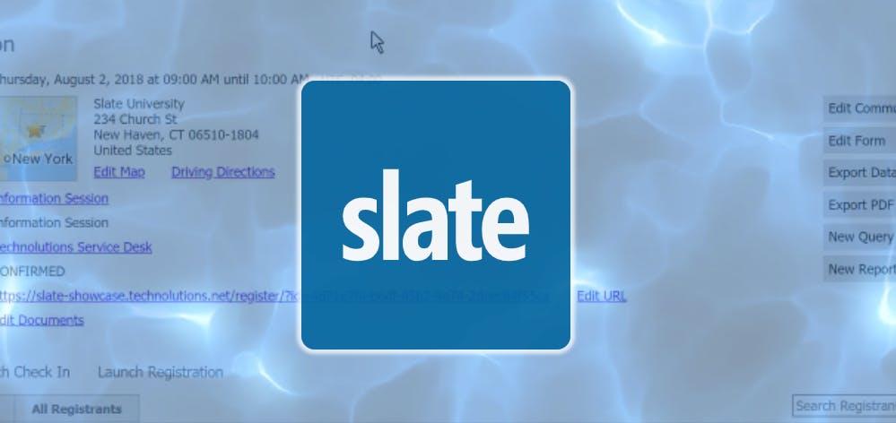 Slate Training: Fellowship Training