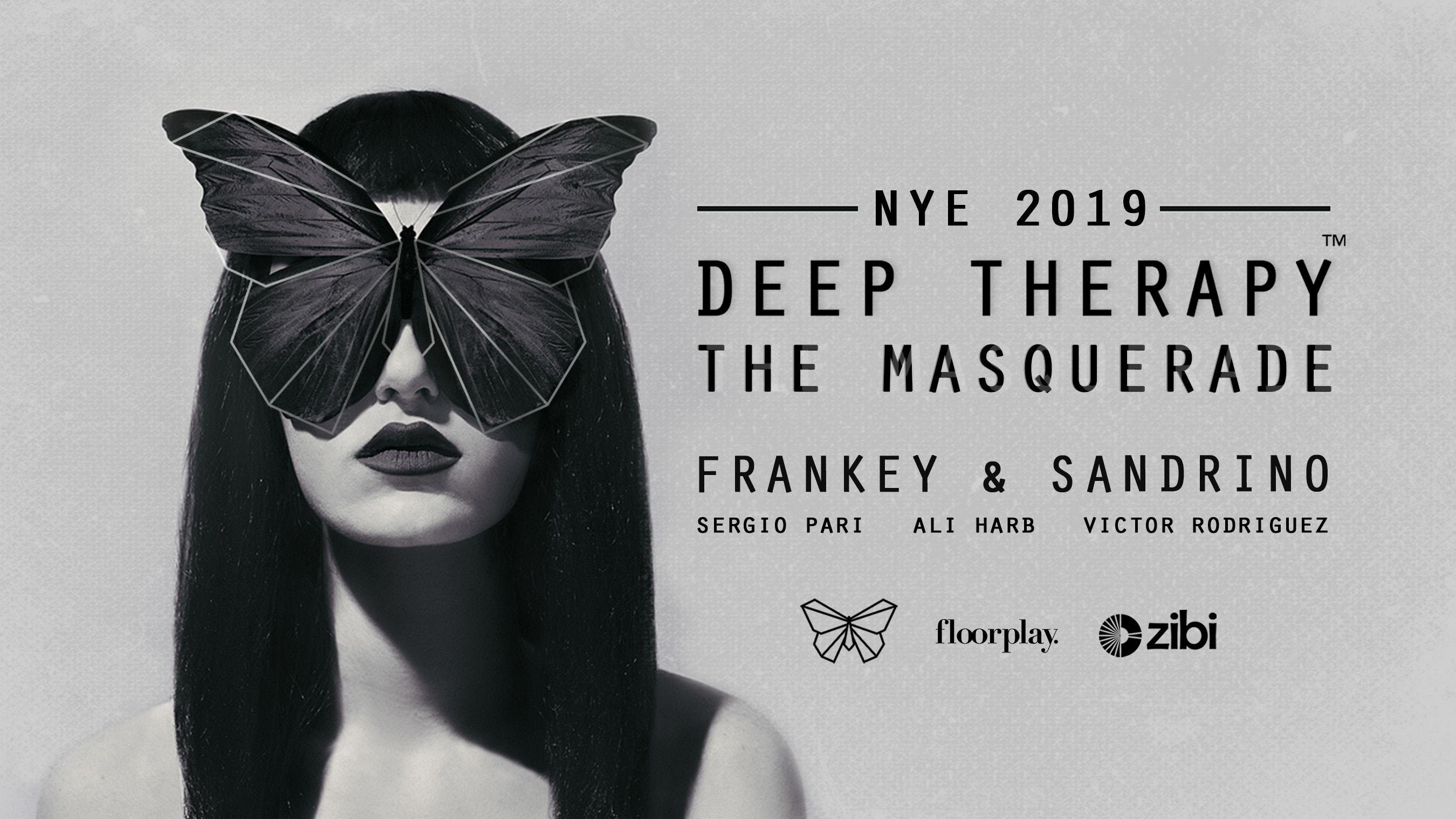 Deep Therapy NYE : The Masquerade