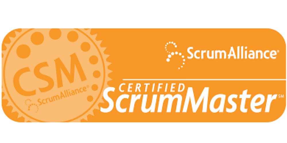 Official Certified Scrummaster Csm By Scrum Alliance New Jersey