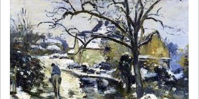 Painting Workshop with Wine: Pissarro's Winter