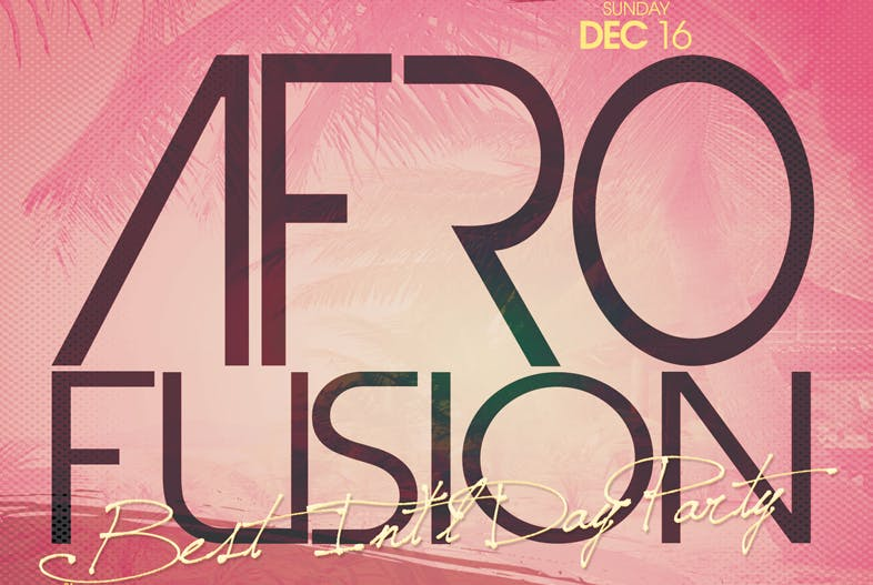 Afro Fusion Best International Day Party @ Th