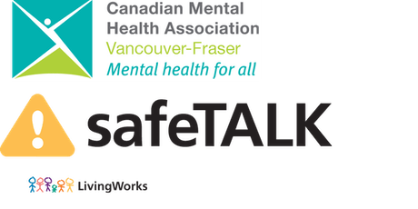 SafeTALK  Suicide Alertness for Everyone (Vancouver) tickets