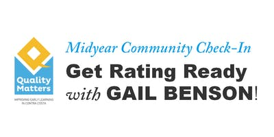 Get Rating Ready with Gail Benson