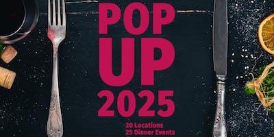 POP UP 2025: Dinner Event No. 1/25