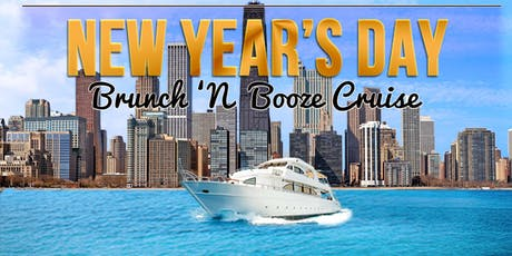 Yacht Party Chicago's New Year's Day Brunch 'N Booze Cruise tickets