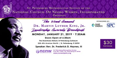 33rd Annual Dr. Martin Luther King, Jr. Leadership Awards Breakfast