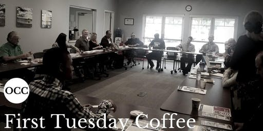 October First Tuesday Coffee