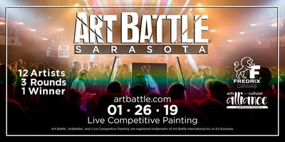 Art Battle Sarasota - January 26, 2019