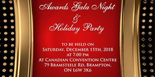 Holiday And Awards Gala Night