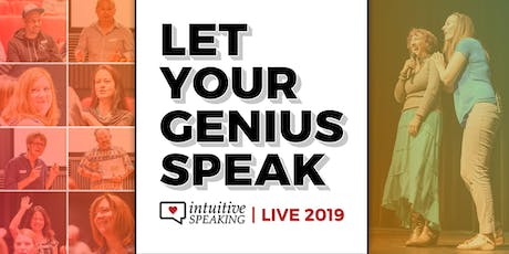 Intuitive Speaking Live 2019: Speak & Teach with Magnetism and Influence tickets