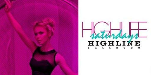 Highlife Saturdays at Highline Ballroom