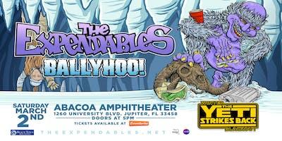 "THE EXPENDABLES W/ BALLYHOO! & KASH'D OUT ""Winter Blackout Tour"" - JUPITER"