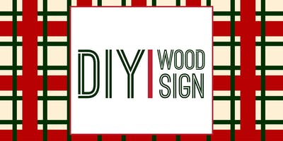 DIY Wood Sign with P.S. Molly: Merry Christmas!