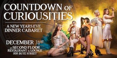 NYE 2019 - Countdown of Curiosities - Dinner & Cabaret Show