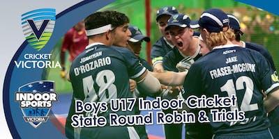 17 & Under Boys State Indoor Cricket Team Trials