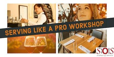 Serving Like  a Pro Workshop (3  Evenings) Jan. 29, Feb. 5, & Feb. 12, 2019