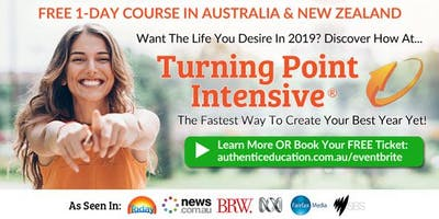 """(Free Ticket) \""""Turning Point Intensive\"""" by Authentic Education. 1-Day Course In Glen Waveley"""