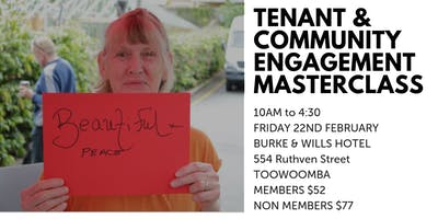 Tenant and Community Engagement Masterclass