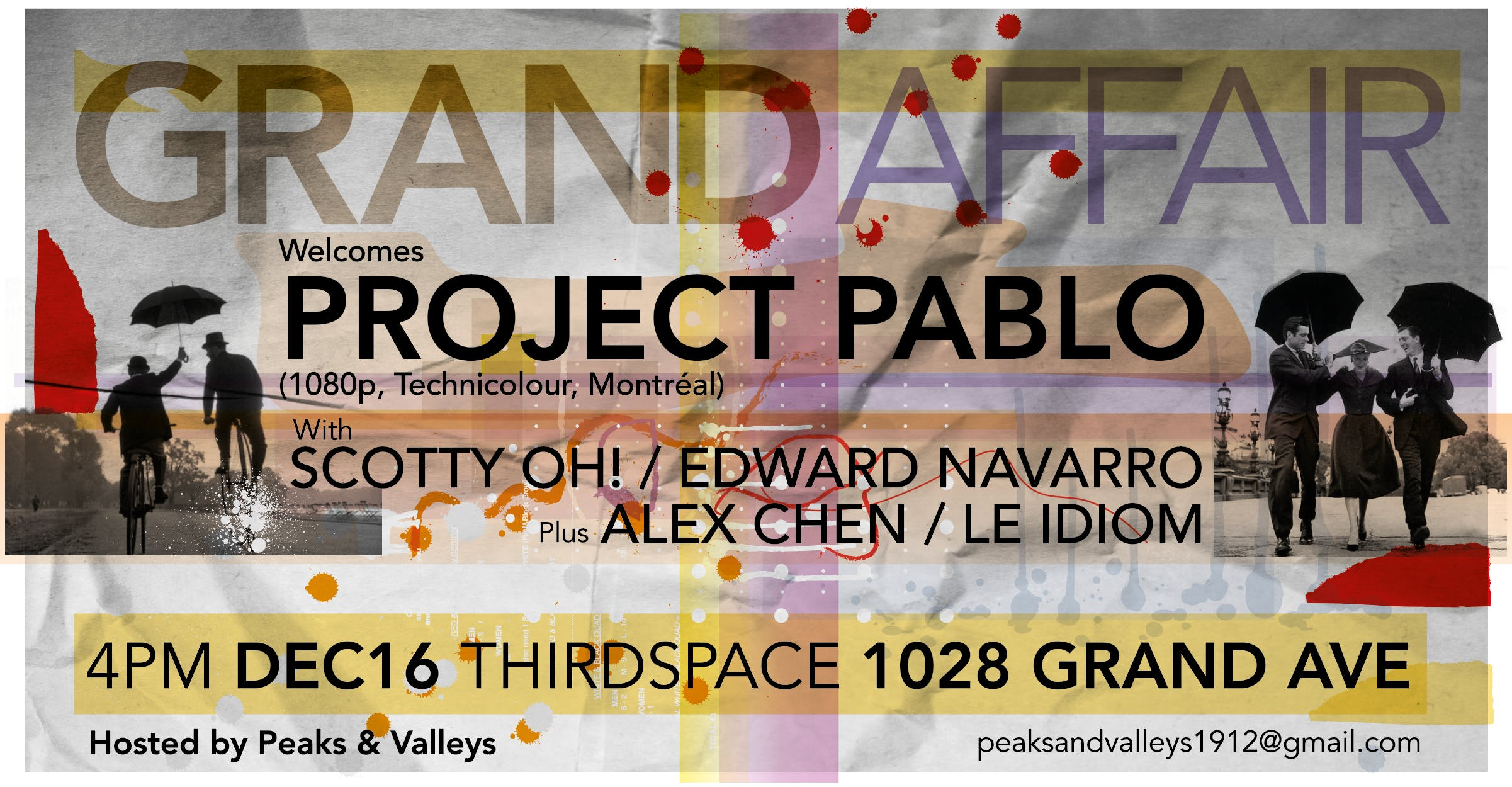 Grand Affair welcomes Project Pablo (CAN)