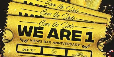 VIEWSBAR - NYE WE ARE 1! ANNIVERSARY EVENT