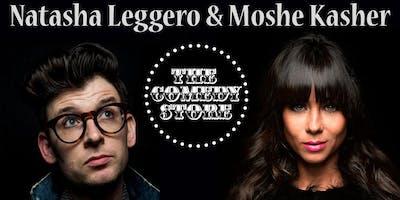 Natasha Leggero & Moshe Kasher - Friday - 9:45pm