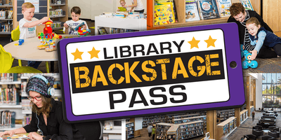 LIBRARY Backstage Pass - Redcliffe Library