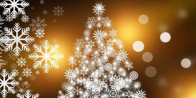 Einladung zur Weihnachtsfeier mit Glühwein