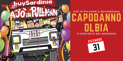 Capodanno 2019 a Olbia con buySardinia & Ajò in pullman