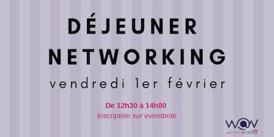 Déjeuner networking Women@Nantes - Février 2019